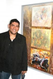 Orlando Salero, pintor venezolano.